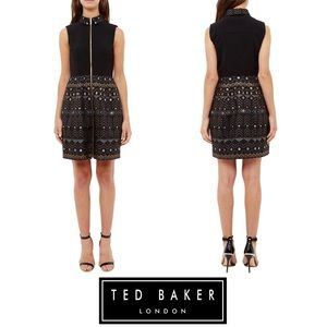 NWOT Ted Baker London Dasia Sparkle Collar Dress